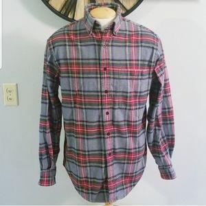Land's End Medium Flannel Shirt